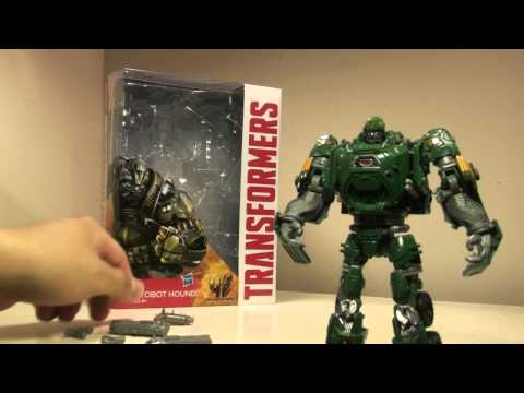 Transformers Generations Age of Extinction Voyager Hound Review
