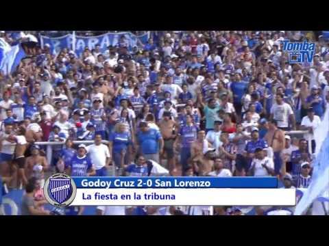 Hinchada vs. San Lorenzo - La Banda del Expreso - Godoy Cruz