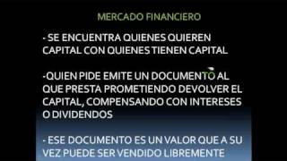 Mercado de Capitales - Mercados Financieros