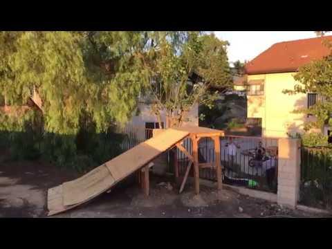 Un salto demasiado grande para una minimoto