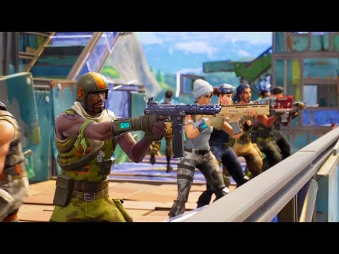 WE'RE GOING TO WAR!   Fortnite Battle Royale (видео)
