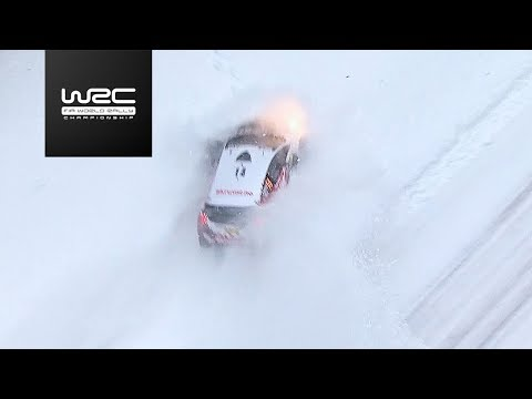 WRC - Rally Sweden 2018: Aerial Clip