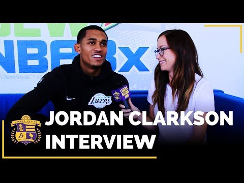 Video: Jordan Clarkson Interview: Lonzo Ball, Magic Johnson, Year 4 Goals