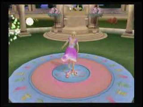 Barbie au Bal des 12 Princesses Playstation 2