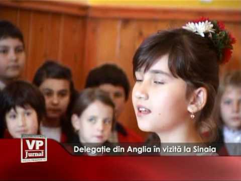 Delegaţie din Anglia în vizită la Sinaia