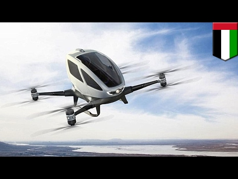 Dubai to Introduce Flying Ehang 184 Taxi Drones by Summer