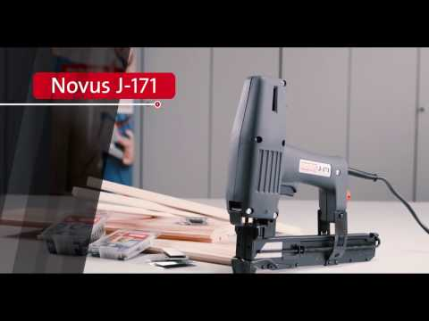 Novus Electric tacker J-171 | Product Video (english)