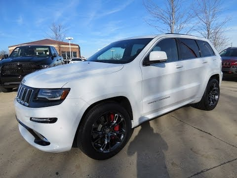 2014 Jeep Grand Cherokee SRT Start Up, Exhaust, and In Depth Review