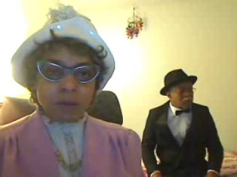 Comedienne Etta Mae Mumphries and Mr. Jenkins goin' to Redbone's Homegoing Service
