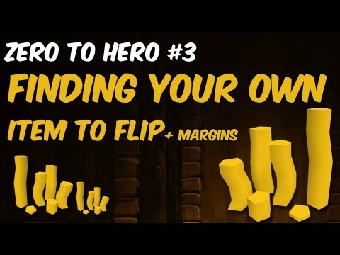 Finding your own Item & Margins? Flipping Guide RS3 Moneymaking from Zero to Hero Ep.#3