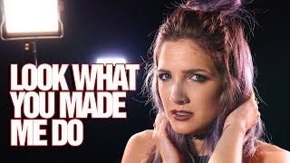 Video Taylor Swift - Look What You Made Me Do - Rock cover by Halocene MP3, 3GP, MP4, WEBM, AVI, FLV Januari 2018