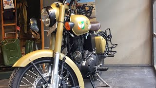4. YES!!! ABS and fuel indicator on Royal Enfield Classic 350cc with New colours   Signal  
