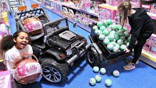 Video 100 LOL Surprise Dolls Toy Hunt - Power Wheels Ride On Car MP3, 3GP, MP4, WEBM, AVI, FLV Juni 2018