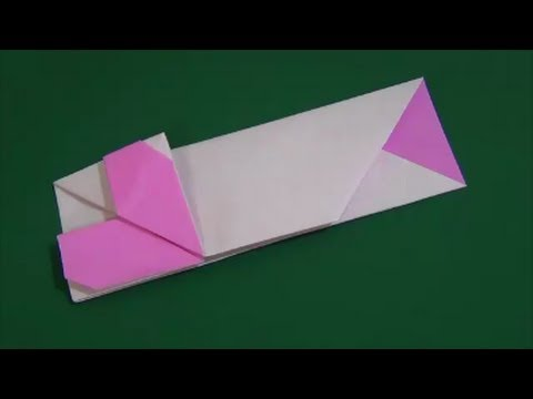 LOVE Tutorial - 017 -- Heart Chopstick Envelope