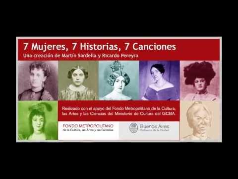 7 MUJERES, 7 HISTORIAS, 7 CANCIONES / Martín Sardella - Ricardo Pereyra