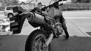 9. My New Suzuki DR650  (Dual Sport Motorcycle)