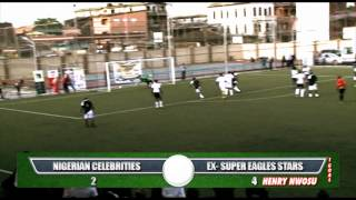 Super Eagles Ex  Stars Vs Ay ,Okey Bakassi, Ali baba, Aki&Paw-paw And Other celebrities