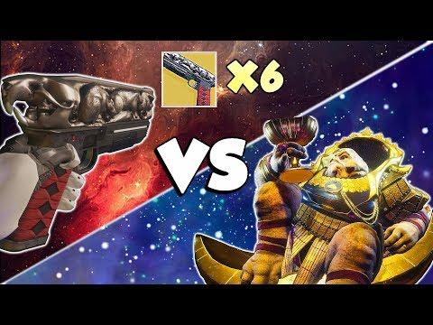 6 Rat Kings VS Leviathan Raid! [Destiny 2]