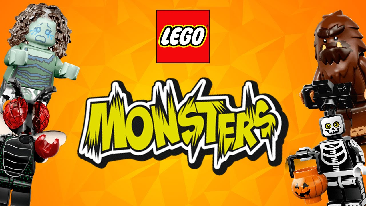 MOAR MONSTERS – Lego Mini Figures Series 14