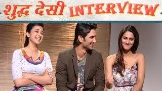 Shuddh Desi Romance | Parineeti Chopra&Sushant Talk About Live In Relationships&Kissing Onscreen