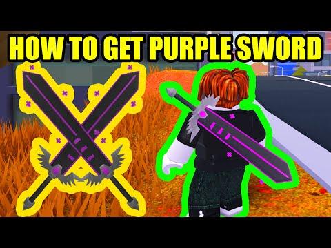 HOW TO GET PURPLE SWORD Roblox RB Battles
