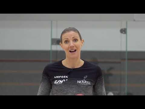 Squash tips: Hitting space with Laura Massaro - Using the boast