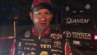 KVD - day 2 Lake Dardanelle Elite Series 2017