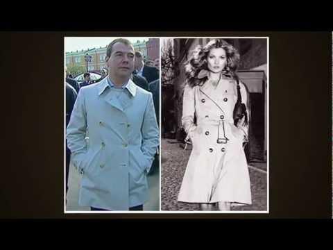 Зачем Медведев надел платье?!