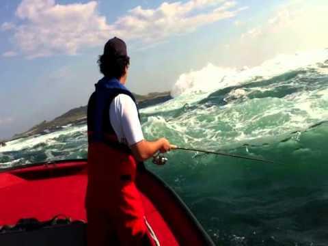 Pesca extrema en Mar de Aguiño