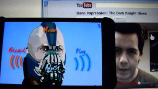 Bane Voice Changer BTVC Batman YouTube video