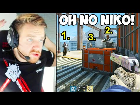 NIKO MADE A HUGE MISTAKE! FASTEST PEEK EVER IN CSGO? CS:GO Twitch Clips