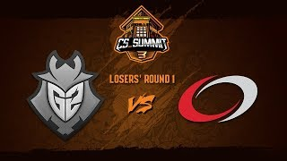 G2 Esports vs compLexity, Map 1 Dust 2 - cs_summit 3: Losers' Round 1 - G2 vs coL G1