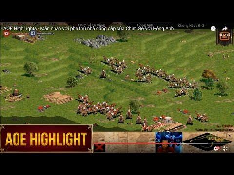 AOE HighLights - Mãn nhãn với pha thủ nhà đẳng cấp của Chim Sẻ với Hồng Anh