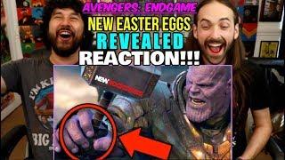 AVENGERS ENDGAME | Thanos Battle - NEW EASTER EGGS REVEALED (New Rockstars) - REACTION!!! by The Reel Rejects