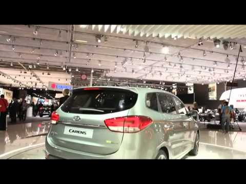 New Kia Carens sneak preview – Paris Motor Show 2012