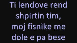 Shpat Kasapi - Fisnike (me Tekst / With Lyrics)