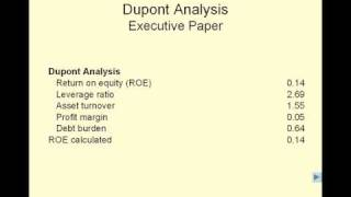 HMP 607 - 20. Financial Analysis and Planning