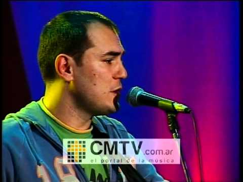 Ismael Serrano video Sucede que a veces - CM Vivo marzo 2005