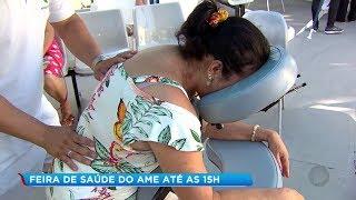 AME de Bauru realiza feira de saúde com prestação de serviços gratuitos à população
