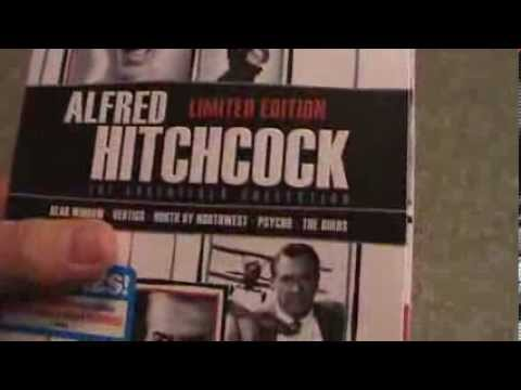 Alfred Hitchcock The Essentials Collection Blu-Ray Unboxing
