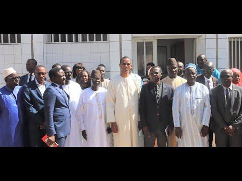 Visite Ministre des pêches et de l'Economie Maritime Monsieur Alioune NDOYE à l'ISRA