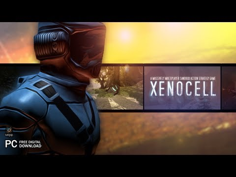 Xenocell: A multiplayer sandbox action-strategy game for the PC