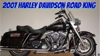 8. 2007 Harley Davidson Road King: srkcycles.com