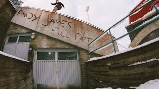 Andy James had a massive season filming with Odd Folks, Snackbreak, Oil Country and SRD. With thanks to everyone involved in capturing this Aussie's street i...
