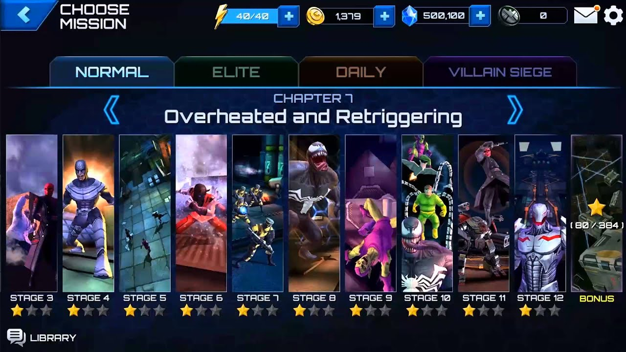 marvel future fight how to get tier 2