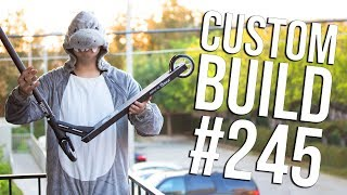 Video Custom Build #245 - Halloween? │ The Vault Pro Scooters MP3, 3GP, MP4, WEBM, AVI, FLV Maret 2019