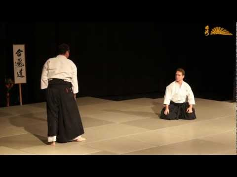 Aikido - sitting techniques