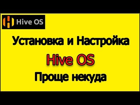 Installing and setting up Hive OS. More details about Hive