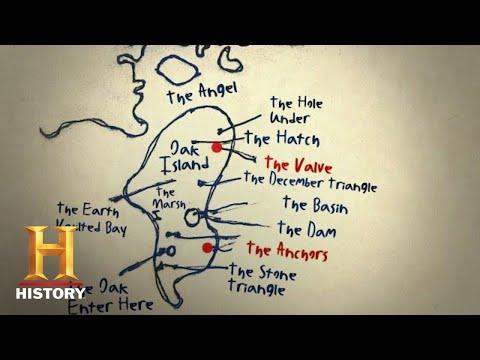 The Curse of Oak Island: MAP DISCOVERY REVEALS HIDDEN HATCH (Part 1) (Season 4)   History