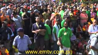 Port Moresby residents, once again took to the shores of Ela Beach to witness the famous Hiri Moale Festival- visit us at http://www.emtv.com.pg/ for the latest ...